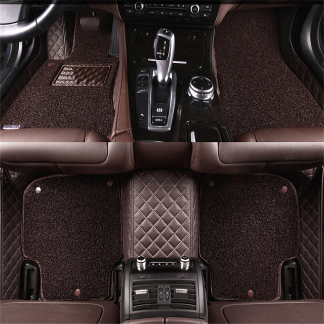 Leather Wire Car Floor Mats For Jeep Grand Cherokee Renegade