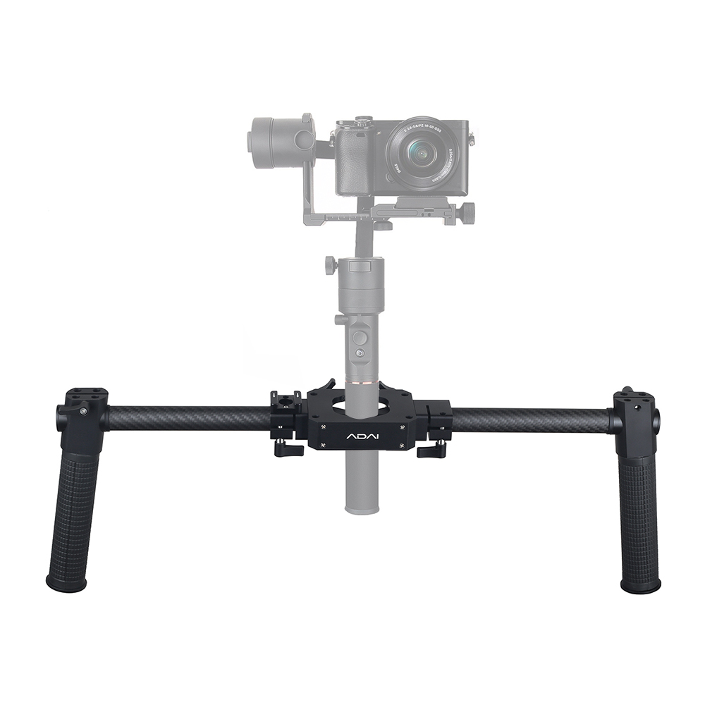Dual Handle Grip Handheld Bracket Handlebar Kit For Zhiyun