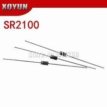 50 pçs/lote SR2100 2A DIODO SCHOTTKY 100V FAZER-15 DIP