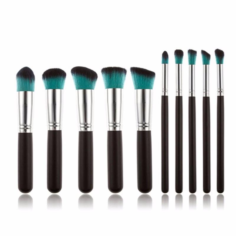10 pcs makeup brush 10