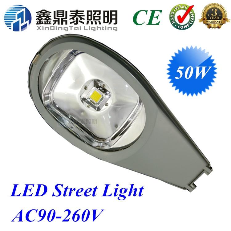 96fe55f0a3 50 W LED Luz de calle impermeable IP65 carretera Lámparas ac85v-265v  epistar cobra cabeza iluminación lámpara luces de la calle