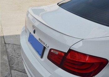 Hlongqt Absスポイラー用bmw F10 F18 520i 523iの525i 528i 535i 2011-2017高品質abs車のリアウイングスポイラーオートアクセサリー