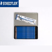 STAEDTLER 100 G12 12 Pcs Different Hardness Refills Professional Sketch Drawing Pencil For Tin Box Packing