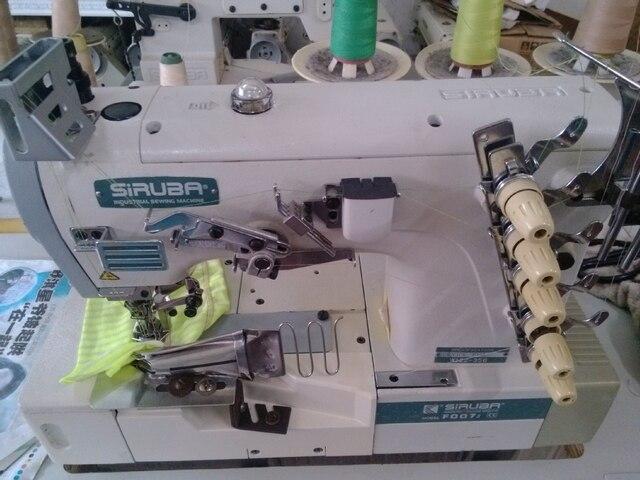 Siruba F40H W40 40 Used Covering Stitch Sewing MachineInterlock Amazing Siruba Sewing Machine Price List