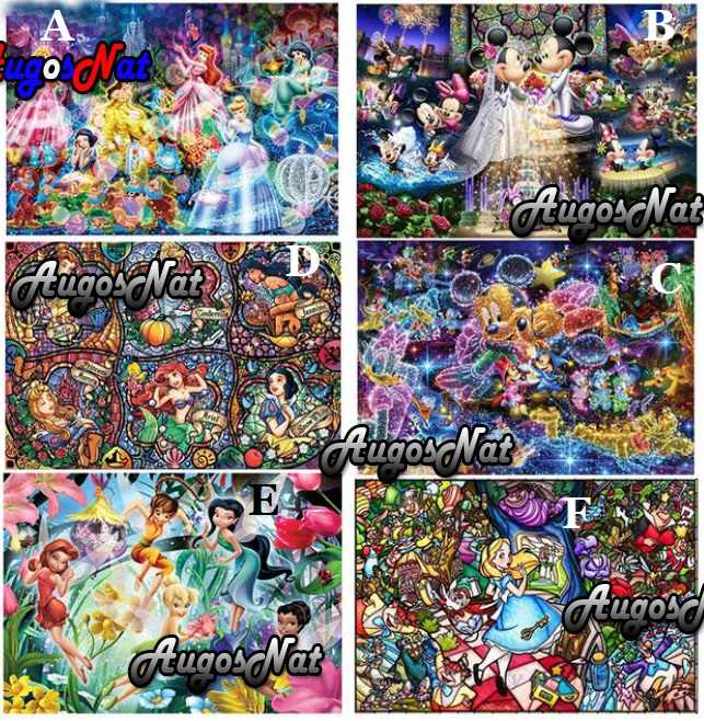 Mickey mouse diamante pintura disney diamante bordado Hada diamante dotz imagen anime tapiz personalizado diamand mosaico dibujos animados