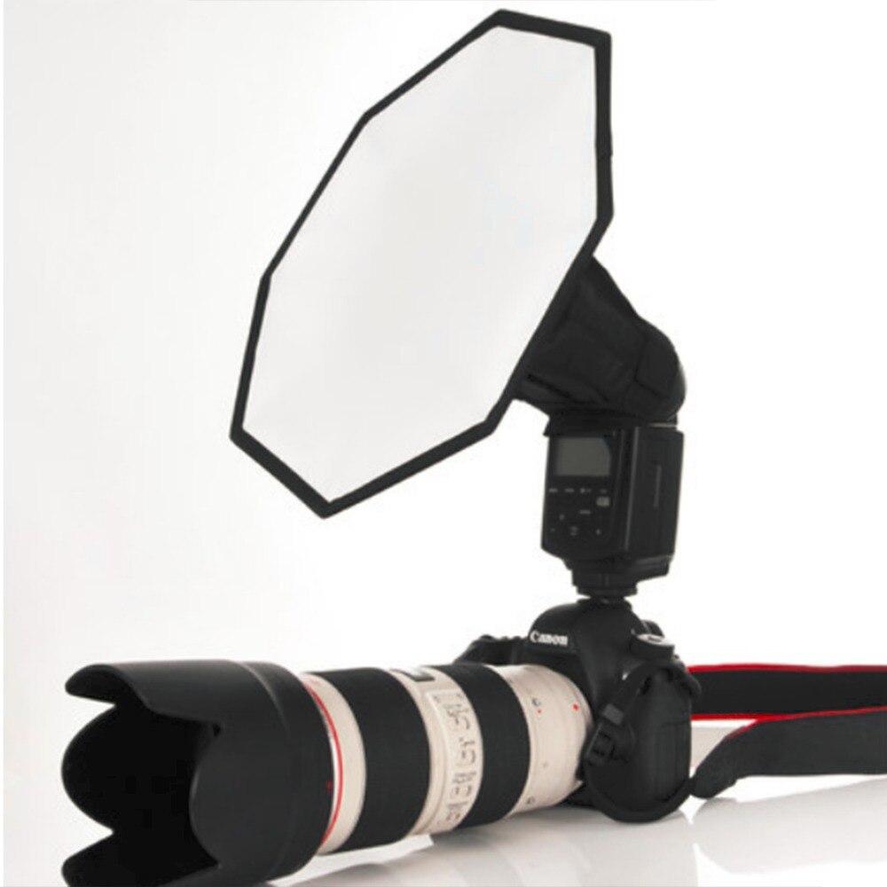 20/30 cm Flash Universal Softbox Octagon portátil difusor para Flash de cámara foto estudio fotografía