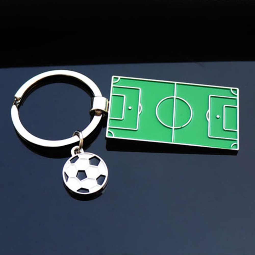 Футбольное поле футбольный кулон брелок для мужчин и женщин брелок для ключей сумка для автомобиля