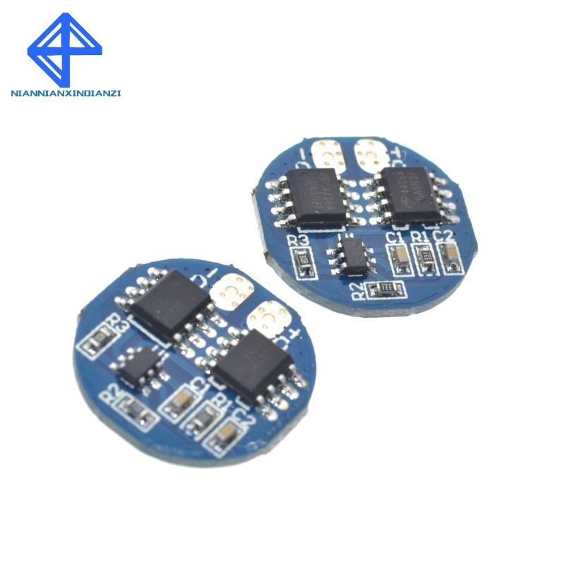 2S 5A Li-ion Lithium Battery 7.4v 8.4V 18650 Charger Protection Board bms pcm for li-ion lipo battery cell pack image