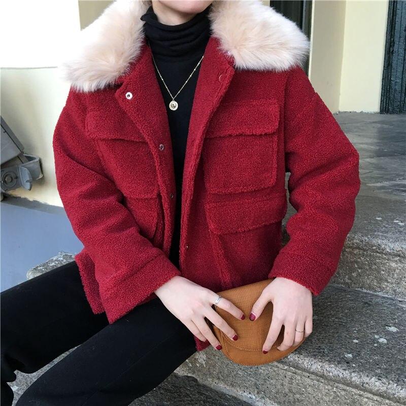 Loose Slim Wild Thick Coat