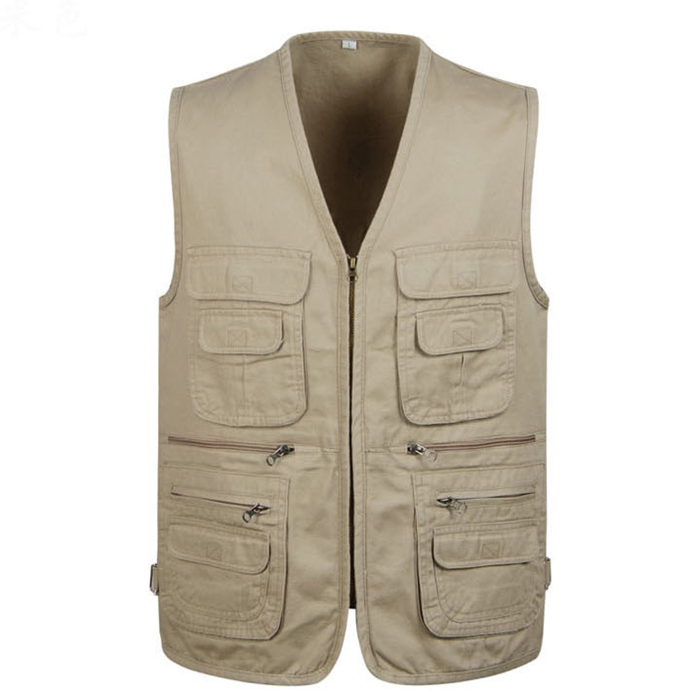 2017 Men S Clothing Sleeveless Jacket Vest Casual Three