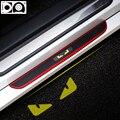 4 шт. автомобильный порог Накладка Добро пожаловать педаль резиновый автомобильный протектор для SsangYong Rodius Korando Turismo Actyon Rexton Kyron