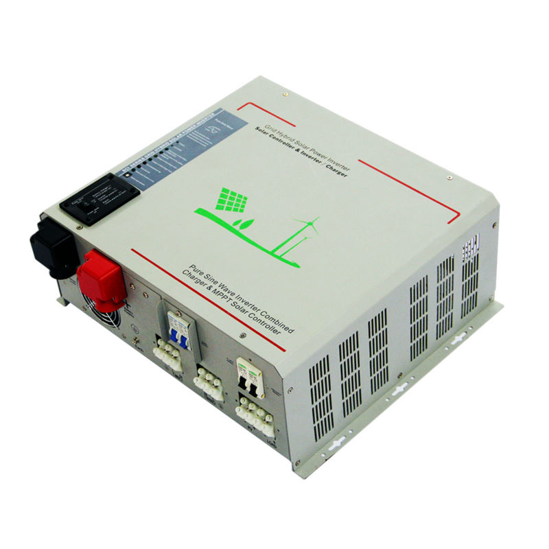 MAYLAR@12V 1500W Peak Power 3000W Pure Sine Wave Solar Inverter Built in 40A MPPT Controller For Any Rechargeable Battery,LED