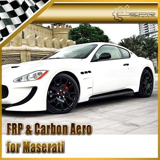 Car Styling For Maserati Gran Turismo CEC Style Carbon Fiber Side Skirt maserati granturismo carbon spoiler