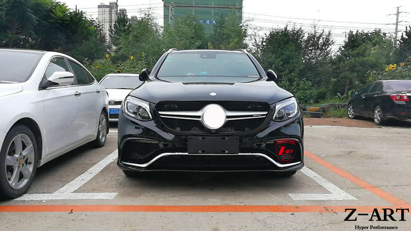 plastic tuning body kit for mercedes benz glc w253 2015. Black Bedroom Furniture Sets. Home Design Ideas