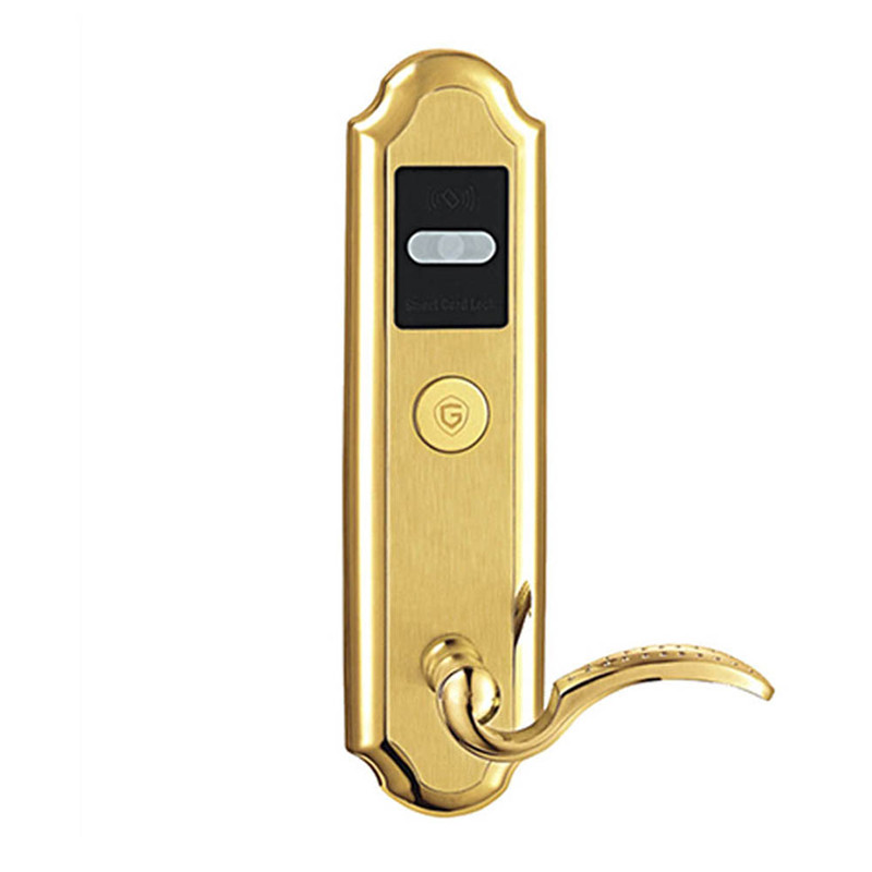 Electronic RFID Card Door Lock with Key For Home Hotel Apartment Office Latch with Deadbolt Electric Lock lkV310SG цена