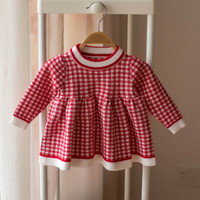 Baby girls coat Princess style baby warm outerwear plaid baby coat autumn winter clothes for newborn girls party