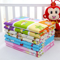 80 120cm Variety Of Styles Newborn Baby Reusable Changing Pad Covers Waterproof Baby Diapers Nappy Cotton