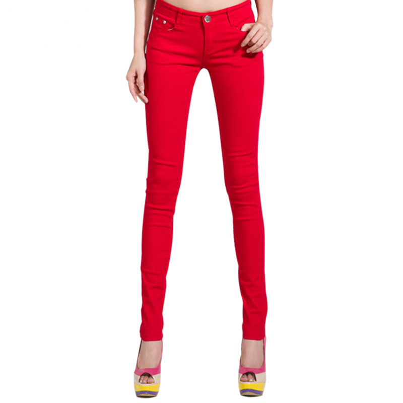 HEE-GRAND-Women-s-Candy-Pants-2018-Pencil-Jeans-Ladies-Trousers-Mid-Waist-Full-Length-Zipper