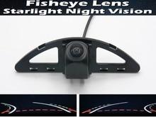 1080P Fisheye Lens Trajectory Tracks Car Rear view Camera For Honda Ballade 2011~2015 City 5 Generation GM2 GM3 2007~2013