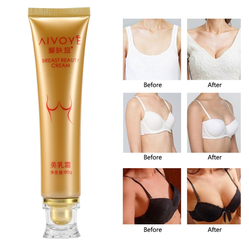 AIVOYE Breast Enlargement Cream Enhancement Massage Cream Beautiful Breast Postpartum Breast Beauty Massage Cream 80g