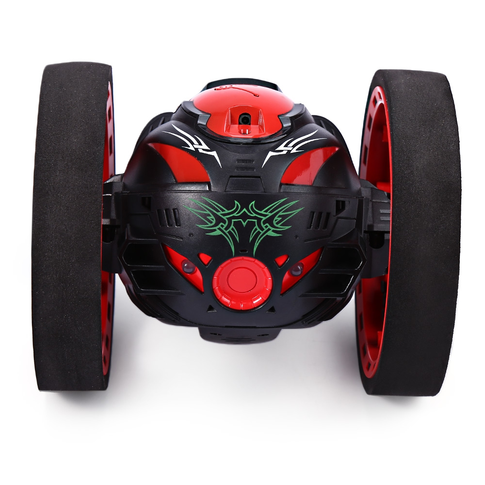 Mini-Cars-Bounce-Car-PEG-SJ88-24GHz-RC-Car-with-Flexible-Wheels-Rotation-LED-Light-Remote-Control-Robot-Car-Toys-for-Gifts-2