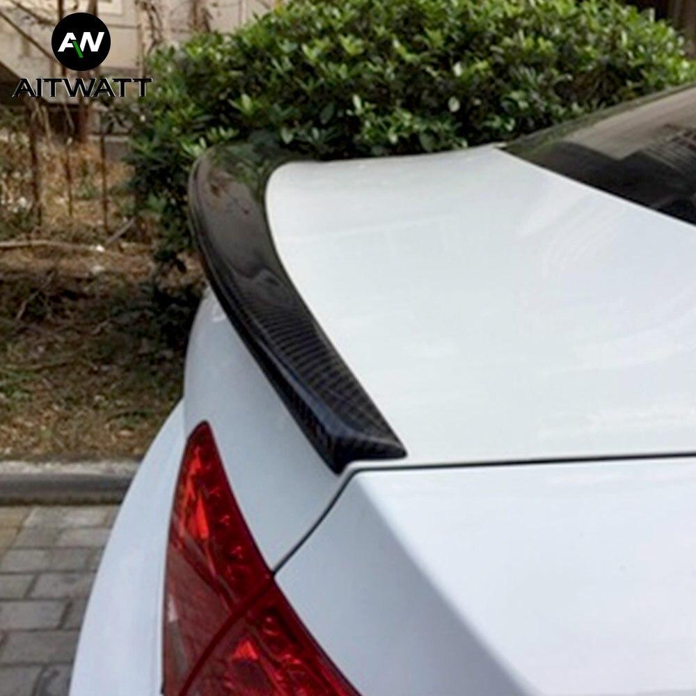 Adapté pour Audi A5 S5 Sportback 4 portes 2009-2016 fibre de carbone modifié aileron arrière queue coffre aile Boot lèvre aile voiture accessoires