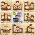 Прямые продажи крылья курицы деревянные полки полка маленький чайник сиденье curio Curio шкаф