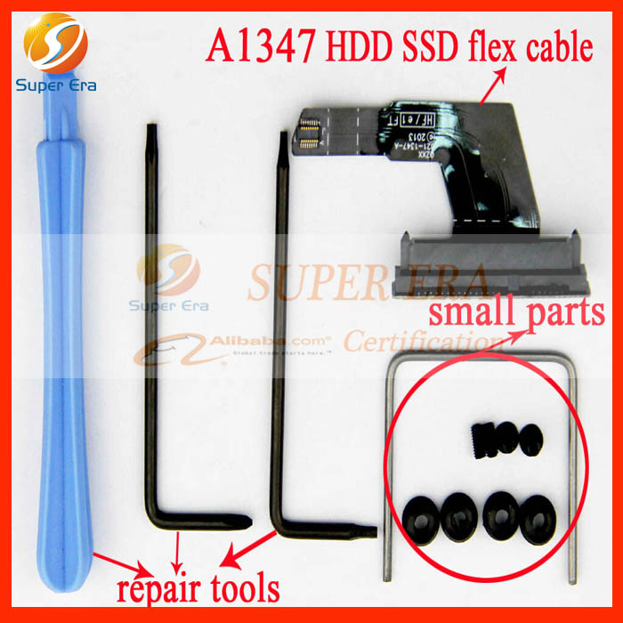 Genuine New 13pcs in one HDD Hard Disk Drive SSD Upper Flex Cable For Apple Mac Mini A1347 2010-2013 Year 821-1347-A