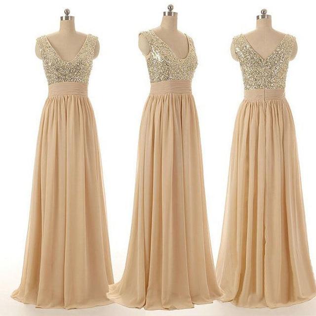 Modelos de vestidos de fiesta elegantes largos