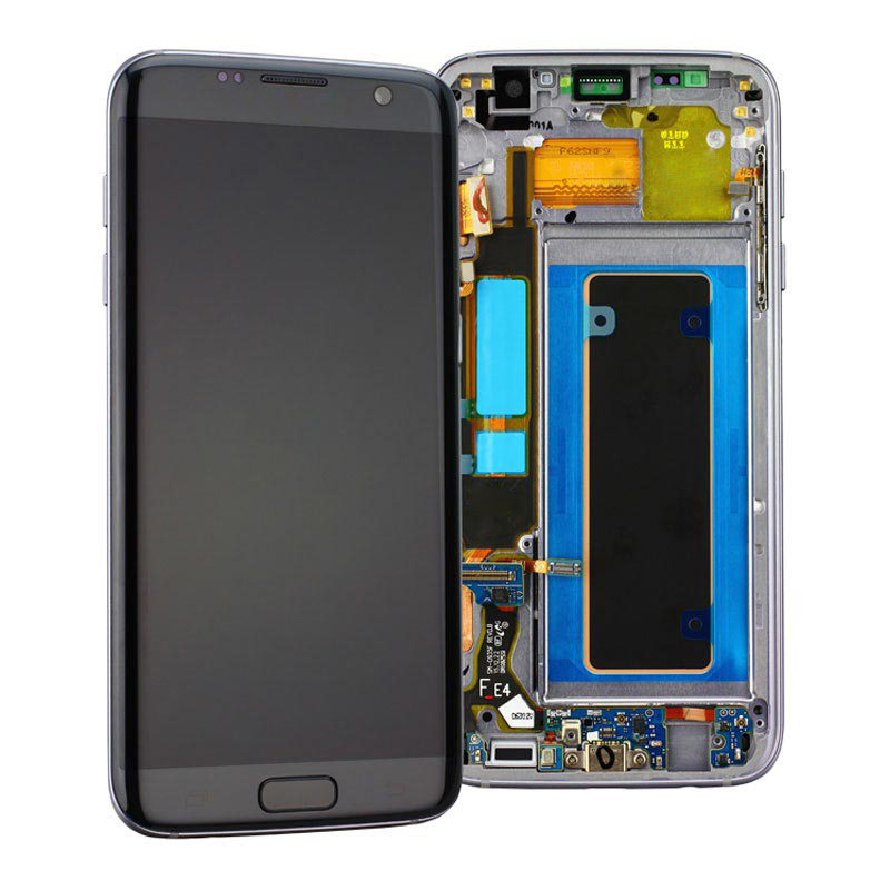 Super AMOLED <font><b>S7</b></font> edge DisplayFor <font><b>Samsung</b></font> <font><b>Galaxy</b></font> <font><b>S7</b></font> edge <font><b>LCD</b></font> Display Screen Digitizer Assembly <font><b>with</b></font> <font><b>FRAME</b></font> <font><b>S7</b></font> edge G935 G935F <font><b>LCD</b></font> image
