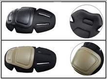 цена на New Tactical Knee and Elbow Protector Pad For Paintball Airsoft Combat Uniform Military Suit, 2 knee pads & 2 elbow pads/Set