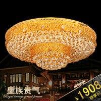 2017 ультрамодные Abajur светодиодные светильники потолочные для Гостиная Роскошные Качество Спальня кристаллический светильник потолочный с