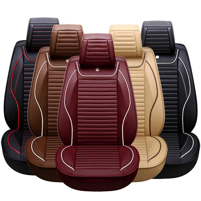 KOKOLOLEE автомобильное сиденье из искусственной кожи чехол для ford focus 2 3/2009/2010/2011/2012/2013/2014/2015/2016/2017/2018 автомобильные аксессуары автостайлинг