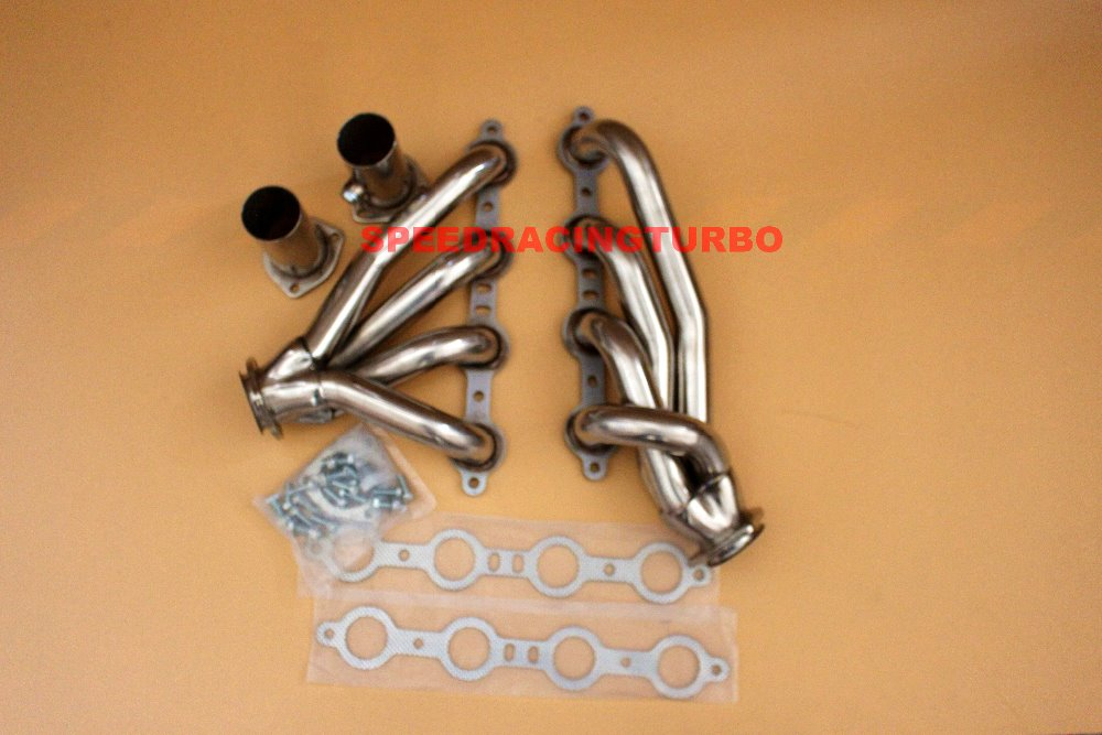 Fit Chevy//GMC S10 94-04 4.3L Stainless Steel Performance Header Manifold Exhaust