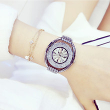 Ladies Watch  Hot-selling Imported Quartz Movement Watch High-end Chain Watch Fritillary Surface Full Crystal Female Watch