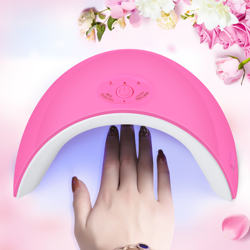 Brand New 36W Nail Dryer UV Led Lamp Nail Gel Polish Curing Lamp for Manicure Gel Varnish Dryer Machine Nail Art Salon Tools sunuv sun4 48w professional uv led nail dryer lamp gel polish nail dryer manicure tool for curing nail gel polish nail drill set