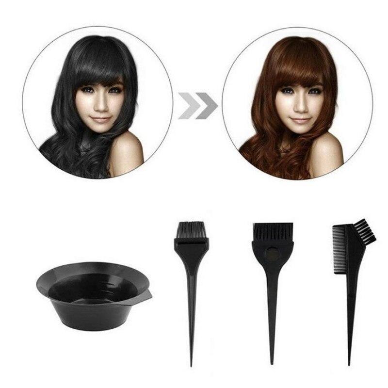 1 Set Salon Hair Coloring Dyeing Kit Dye Brush Comb Bowl Tint Tool Kit 2U927