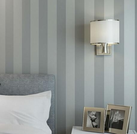 Mt Rolle Moderne Einfache Grau Streifen Gestreifte Tapete Wohnzimmer Schlafzimmer Tapete Wandverkleidung
