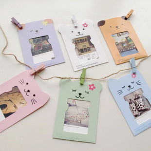 new arrival diy paper baby cute mini frame paper photo frame wall frame with hemp rope