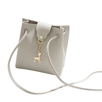 Deer Cover Crossbody Handbag Hasp Mini Travel Bucket Crossbody Handbags Women Leather Messeger Handbags Women Shoulder Bag#YL handbag