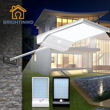 Solar Light 36led 450LM PIR Motion Sensor Light Powered Street Lamps Garden Light Outdoor Led Solar Lights Waterproof Wall lamp 450lm 36 led solar powered street light pir motion sensor light garden security lamp outdoor street waterproof wall lights