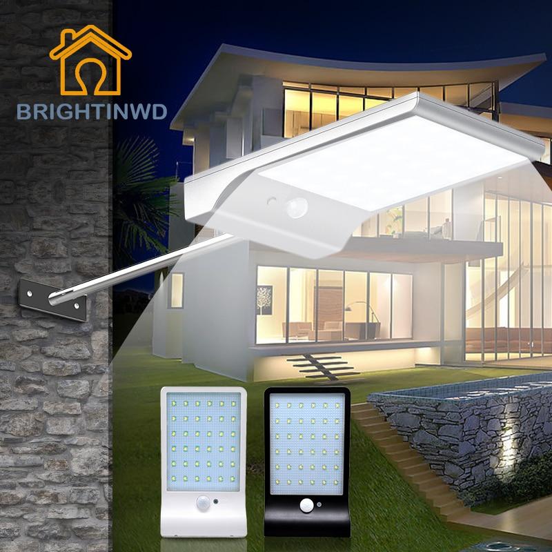 Lâmpadas Solares energia luzes de parede À Marca : Brightinwd