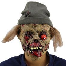 Neue Heiße Halloween Kürbis Scary Masken Halloween Latex Realistische Mascara De Latex Realista Cosplay Maskerade Masken Heißen Verkauf