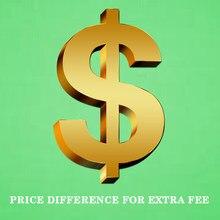 Diferença de preço para taxa extra 0.7