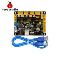 New Keyestudio CNC GRBL V0 9 Board For CNC Laser Engraving