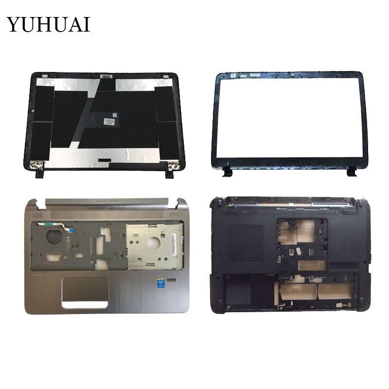 Couverture d'ordinateur portable pour HP Probook 450 455 G2 LCD Capot SUPÉRIEUR/LCD Avant lunette/Repose-poignets Haut/Bas cas de couverture 791689-001 AP15A000410