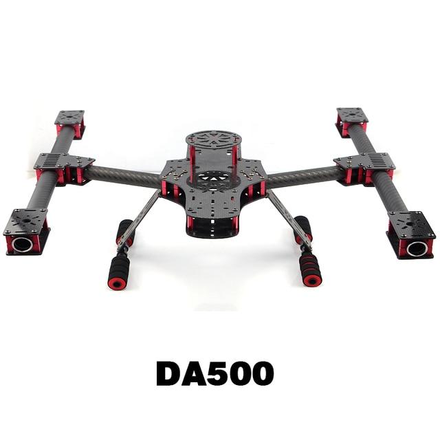 DA500 Carbon Fiber Quadcopter Frame Aeromodelismo Diy Fhexacopter ...