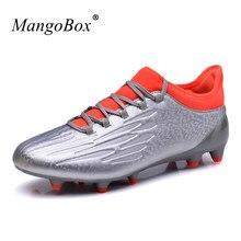 1f7377ff56 Sapatos Homens Tênis de Marca Melhores Chuteiras De Futebol Para Turf  MangoBox Anti-Escorregadio Sapatos Ao Ar Livre Chuteiras D..