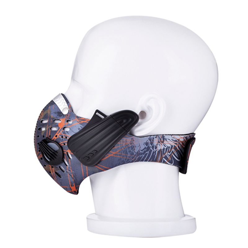 Pengendalian Bone Lead-out City Sports Mask Wireless Headphone - Audio dan video mudah alih - Foto 2