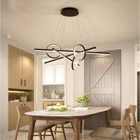 Хромированный минимализм DIY подвесной современный светодиодный подвесной светильник для столовой Бар подвесной светильник suspendu подвесной